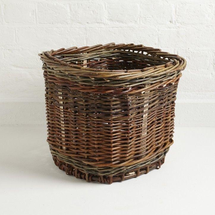 Willow Waste Paper Basket | The New Craftsmen | Luxury Handmade Craft