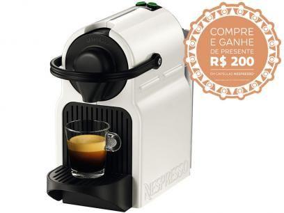 Cafeteira Espresso 19 Bar Nespresso Inissia - Branco com as melhores condições você encontra no Magazine Reidospresentes. Confira!