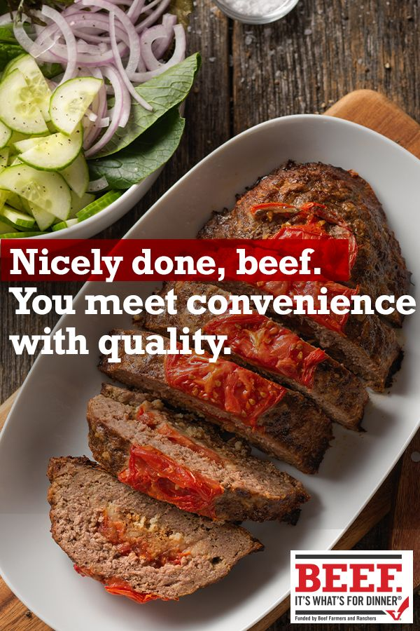 Summertime Beef Meatloaf Recipe In 2020 Beef Recipes Easy Meat Recipes Beef Recipes