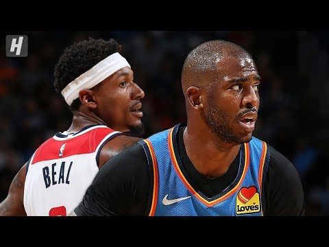 23. Oktober 2019 – VIDEO – OKC Thunder gegen Washington Wizards – Full Game Highli …   – Sports News/Information, Memorable People & Moments – USA, Canada, and International Sports