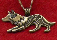 Wolf Pendant (CrazyCelts.com)