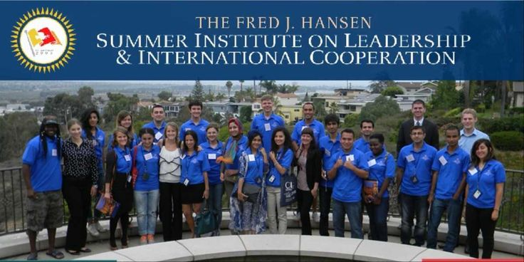 The Hansen Summer Institute Program on Leadership and International Cooperation is an amazing and inspiring international program for the young leaders from all over the world. It is funded by the Fred J. Hansen Foundation.  The main goal of Hansen Summer Institute is to bring the young scholars from different parts of the world who will use this experience to create friendships and develop a practical and intellectual understandings for the peaceful future.
