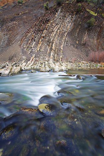 Vertical Geology: Cache Creek Canyon, California