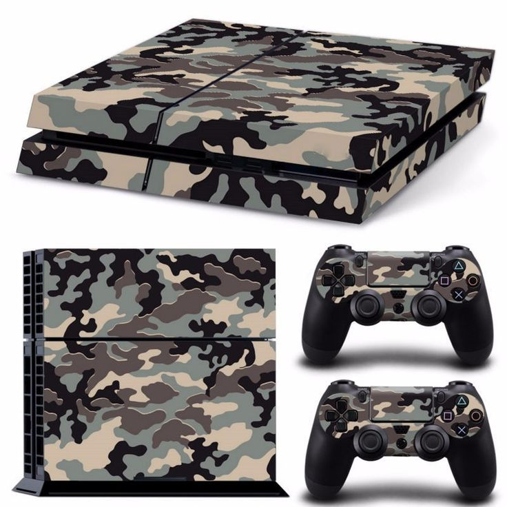 >> Click to Buy << Hot Sale New Arrival Camouflage Skin Cover Sticker For PlayStation 4 Console + 2 Controller Protector Skin #Affiliate