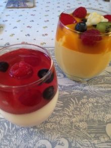 Mango pudding from The Peninsula Tokyo
