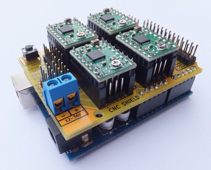 Arduino CNC Shield   100% GRBL Compatable
