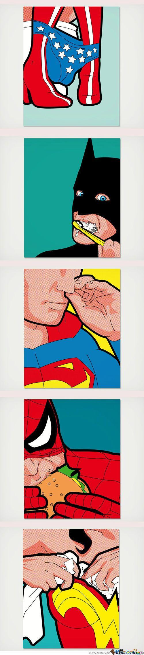 Normal Superheroes