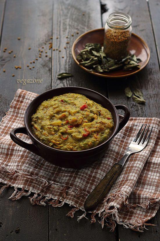 Upma - indyjska kasza manna z warzywami