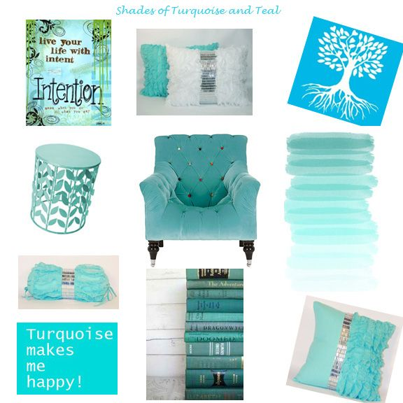 turquoise teal and aqua teen bedroom