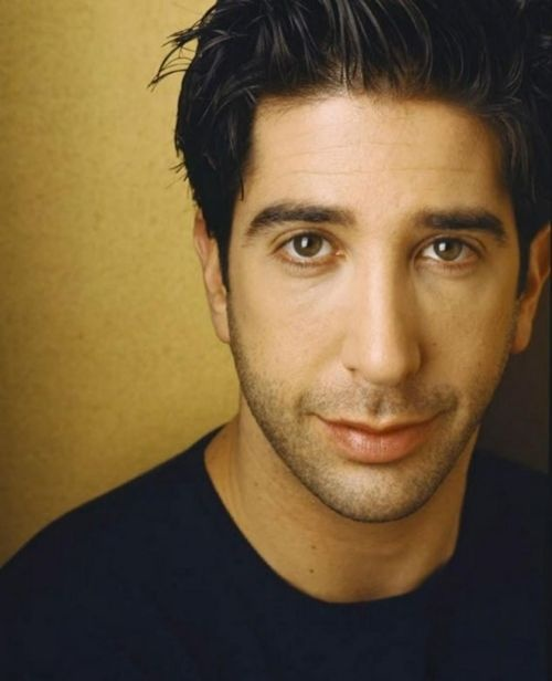 David Schwimmer... this may have something to do with my absolute, truest of true, and undying love of ROSS