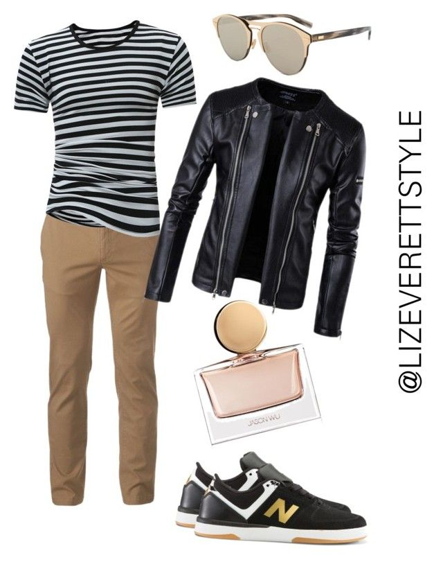 """""""OOTD: Men's Athlesure - Day Date"""" by lizeverettstyle on Polyvore featuring Urban Pipeline, New Balance, Christian Dior, Jason Wu, men's fashion and menswear"""