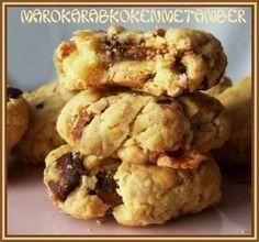 Hartig/zoete Koekjes Met Gedroogde Vijgen En Geitenkaas recept | Smulweb.nl