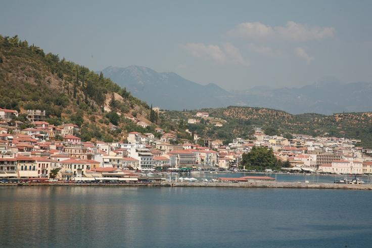 The town of Gythio