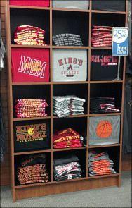 shelve t shirt display - Google Search
