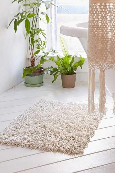 Best Modern Bathroom Ideas Images On Pinterest Bathroom Ideas - Black and white tweed bath rug for bathroom decorating ideas
