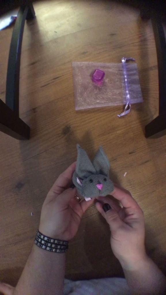 Turn a Washcloth into a Bunny Hack