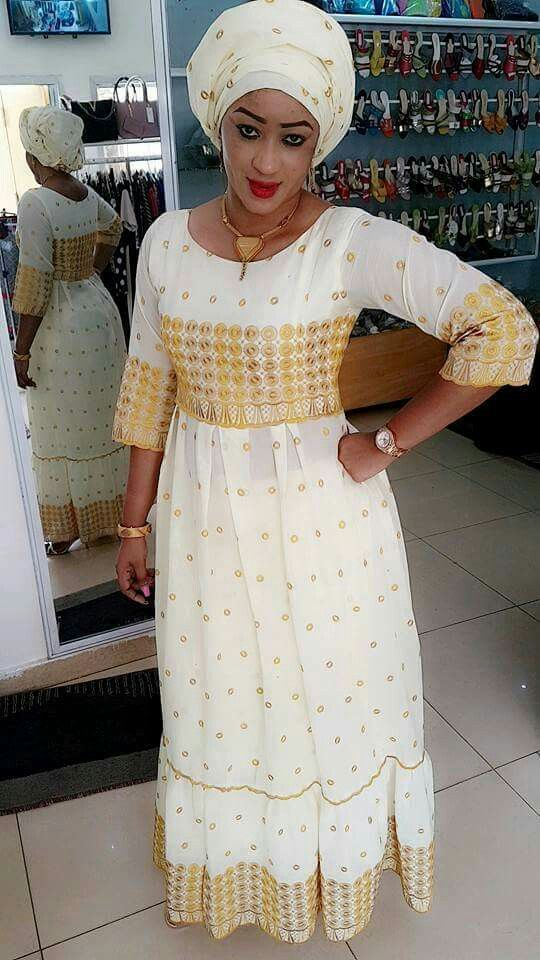 For inspiration only.  Add your fringes and ribbons of blue.  Malian Fashion