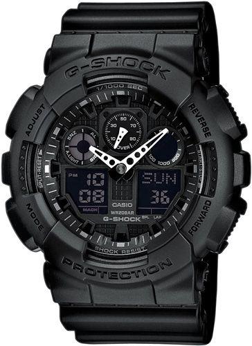 Zegarek męski Casio GA-100-1A1 - sklep internetowy www.zegarek.net
