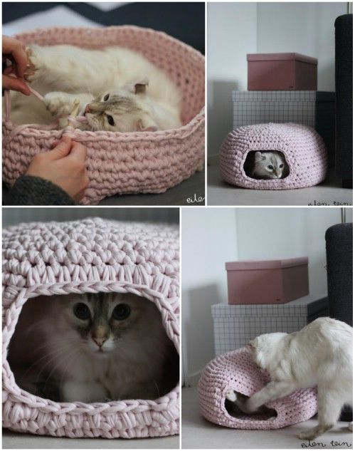 Crochet Bed..so stinkin cute!!