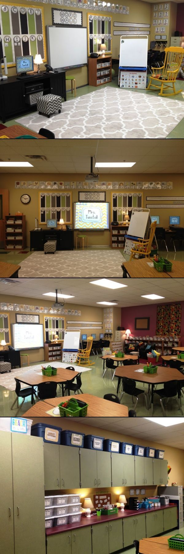A warm, cozy classroom that looks like home. LOVE IT!