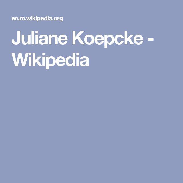 Juliane Koepcke - Wikipedia