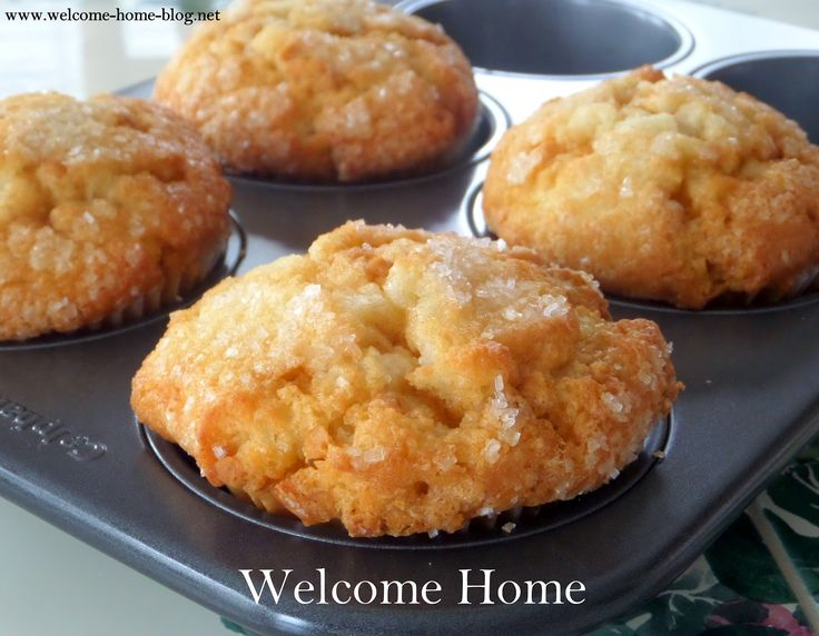 Welcome Home Blog: Hot Buttered Rum Muffins