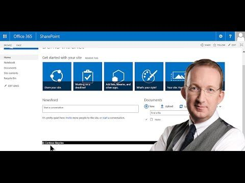 *Customize a SharePoint Master Page* Add a footer to pages in a SharePoint Online site: http://www.kalmstrom.com/Tips/SharePoint-Online-Exercises/Customize-Master-Page.htm