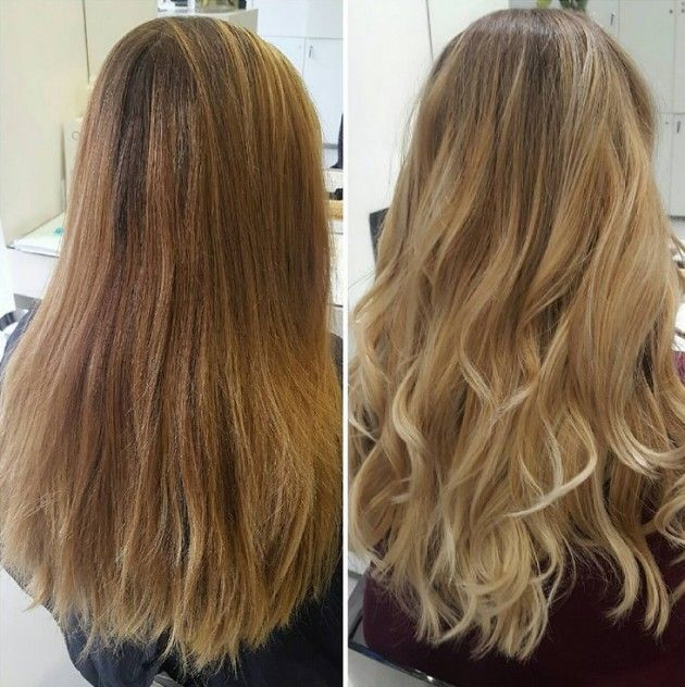 Hair make-over - Blonde waves - Day and Night Hairdressers - Kapper Amsterdam