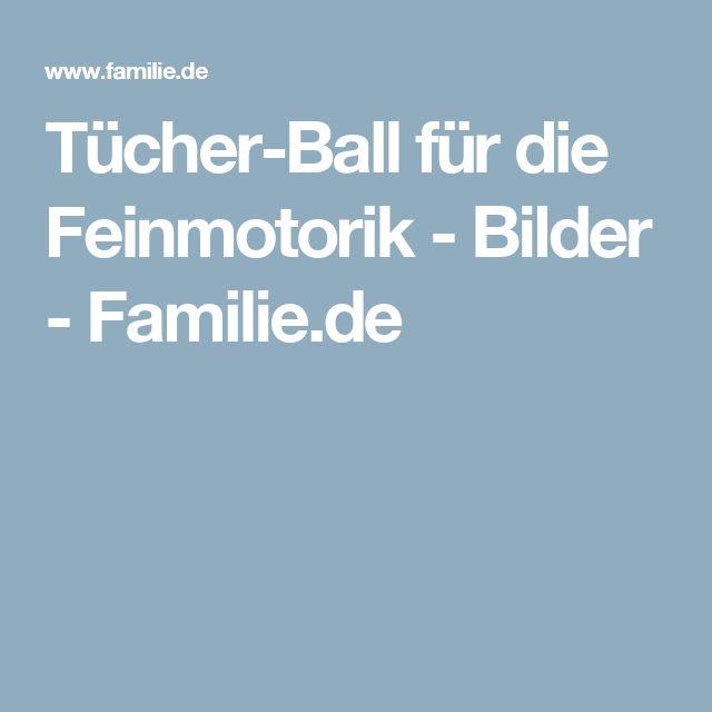Tücher-Ball für die Feinmotorik - Bilder - Familie.de