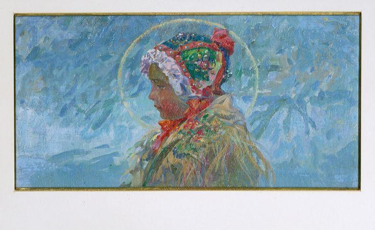 Jan Šebek: Jezulátko v národním kroji, 1925