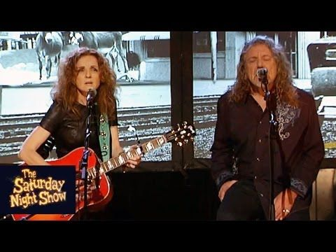 Patty Griffin and Robert Plant - Highway Song | The Saturday Night Show in Ireland, November 10, 2013.
