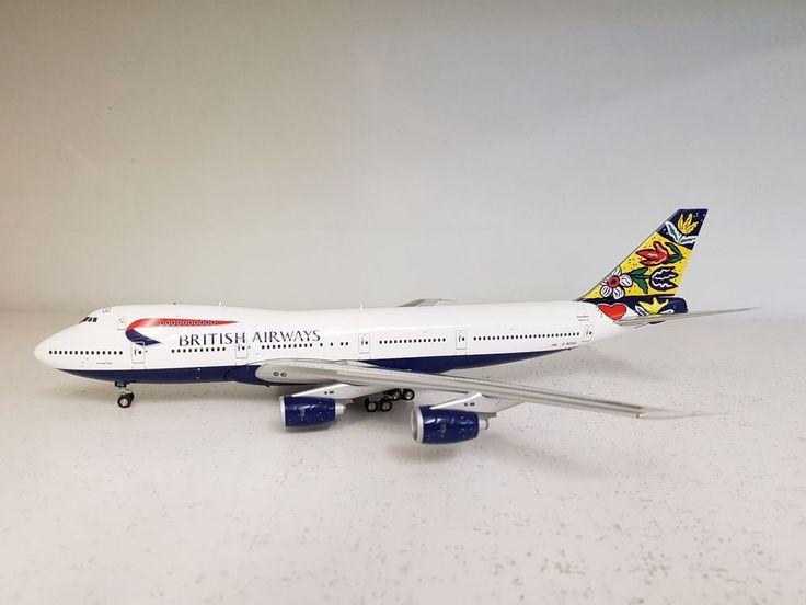 InFlight200 Boeing 747-200 British Airways G-BDXG (Flower Fields - Sweden) #InFlight200