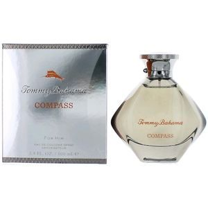 Tommy Bahama Compass Cologne by Tommy Bahama EDC. Quietly overwhelming. This is a precursor scent to cooler, colder weather scents. It works well in the summer and warm fall days as well. It is a scent that projects self assuredness without being cocky or overbearing in its manner.