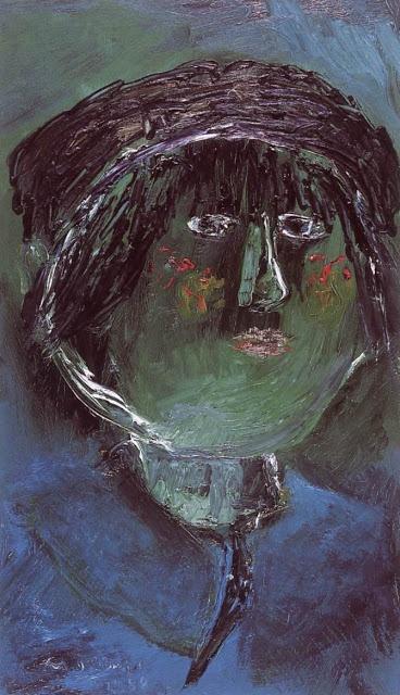 1988 Self Portrait | Hungarian Margit Anna, born Margit Sichermann, 1913~1991