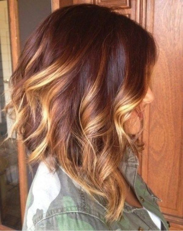 Best 25 red to blonde ombre ideas on pinterest red blonde ombre soft wavy red to blonde ombre bob haircut for medium length hair pmusecretfo Gallery