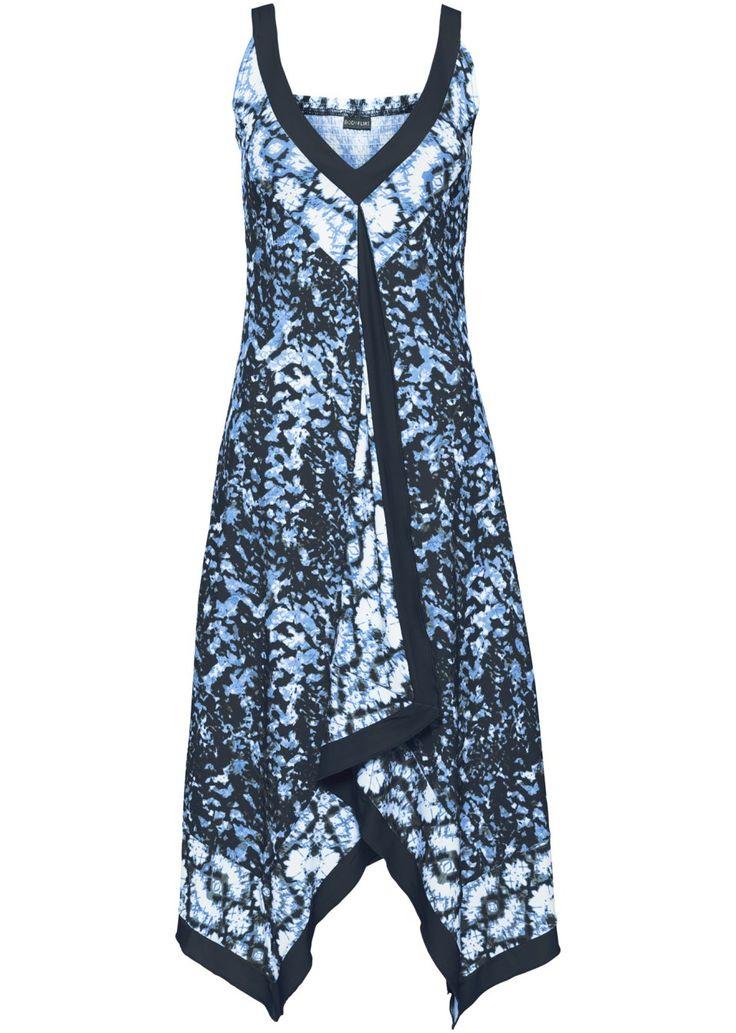 Посмотретьпрямо сейчас:  Летнее трикотажное платье, украшенное принтом. Глубокий V-образный вырез спереди и сзади. Асимметричный подол с удлиненными боками.