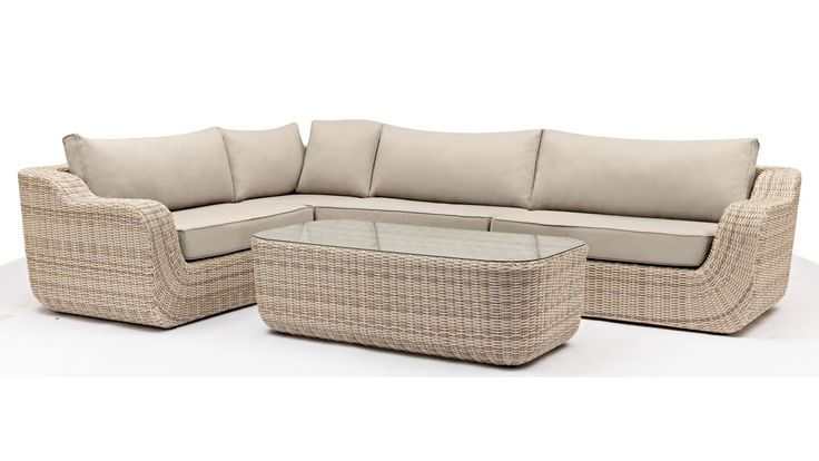 Home :: Outdoor :: Outdoor Lounges :: Modular Lounges :: Almira 4 Piece Outdoor Modular Lounge