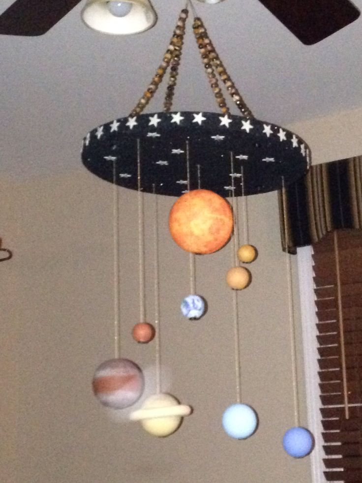 solar system out of foam balls - photo #8