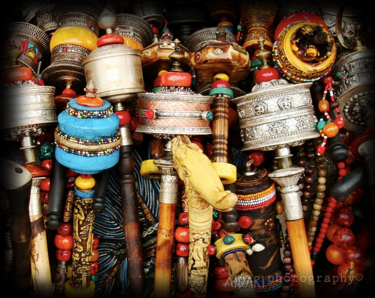 Tibetan Prayer Wheels Fine Art Photography Buddhism By AldariArt Another  For The Bedroom