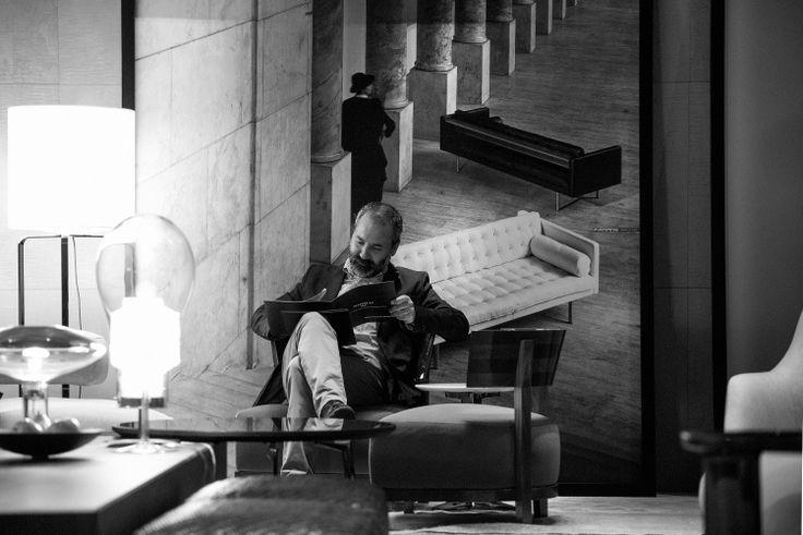FLEXFORM THOMAS armchairs.