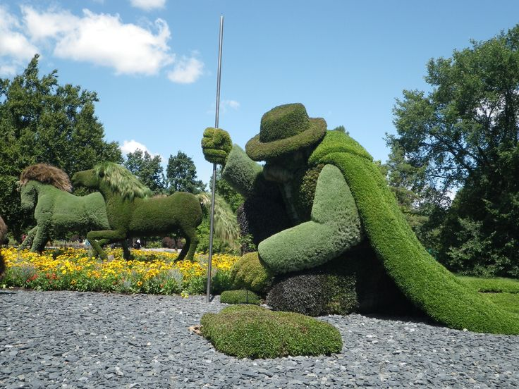 Awesome Mosaiculture Montreal 2013 At Montreal Botanical Gardens In Montreal, Canada