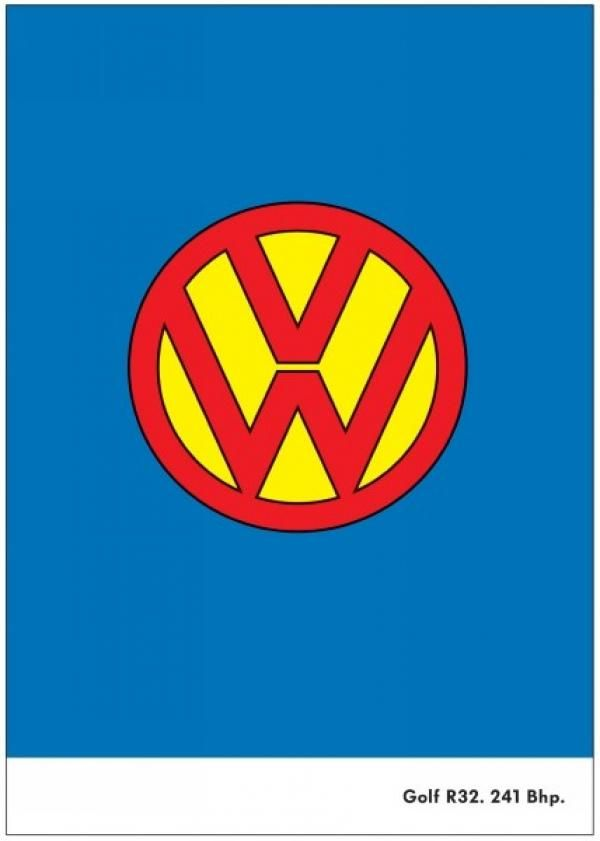 Superman Volkswagen