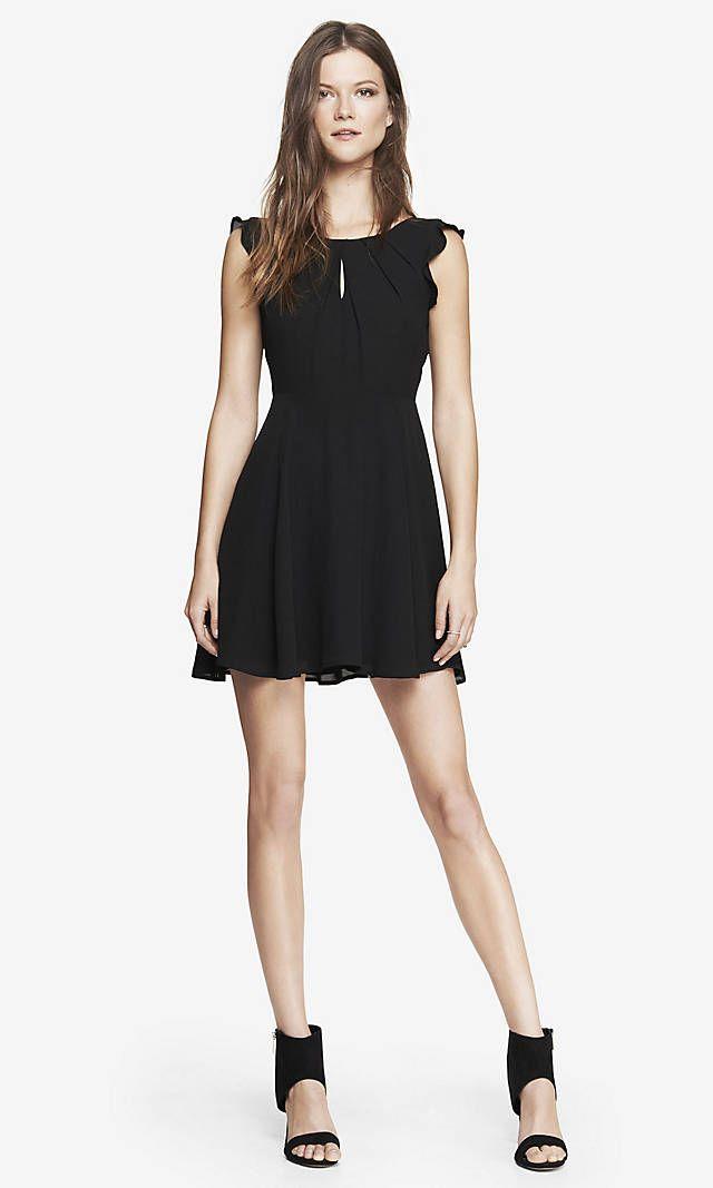 Long black dress size 8 – Woman art dress