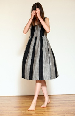ace & jigFull Skirts, Ace Jig, Bubbles, Textiles, Style Guide, Black Stripes, Weekend Dresses, Grey Leggings, Grey Legs