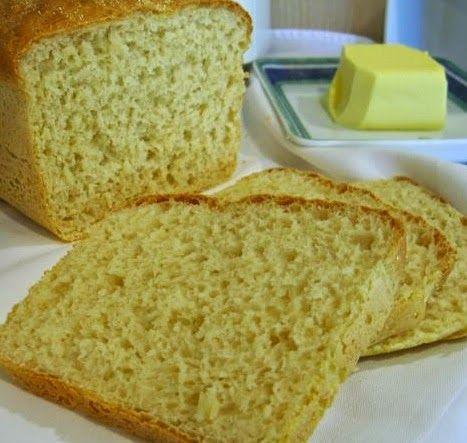 Pão de Farinha de Milho Amarela - Máquina de Pão