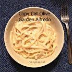 Copy Cat Olive Garden Alfredo Recipe