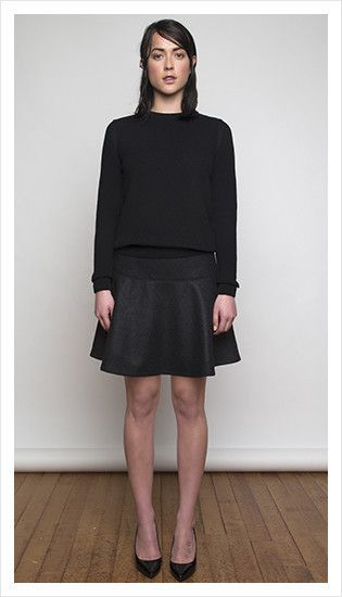 derek sweater & valentine skirt | winter 2014 collection | juliette hogan