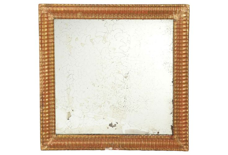 Go for a vintage look in the style of this square piece from Berkshire Home and Antiques. $399, onekingslane.com