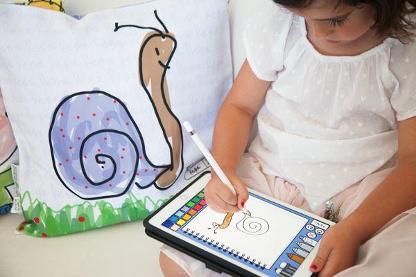 Utiliza nuestra app de dibujo BrocPaint y disfruta de un 20% de descuento en todos nuestros productos con el código promocional ILOVEBROCPAINT hasta final de año (Para que el descuento sea válido todos los dibujos deben estar hechos con la app) #brocpaint #dibujos #niños #regalosoriginales