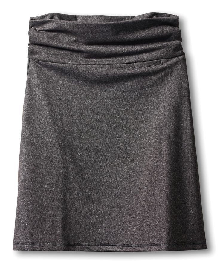 Look at this Black Smoke Penny Skirt on #zulily today!